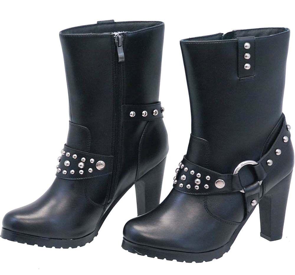 Para Para Para mujer Ride TECS 8546-M Negro Arnés botas Motorista Talla 6.5 Totalmente Nuevo  despacho de tienda