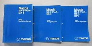 https://www ebay com/itm/2003-mazda-mx-5-miata-service-workshop-repair-manual-wiring-diagrams-set/121433076358