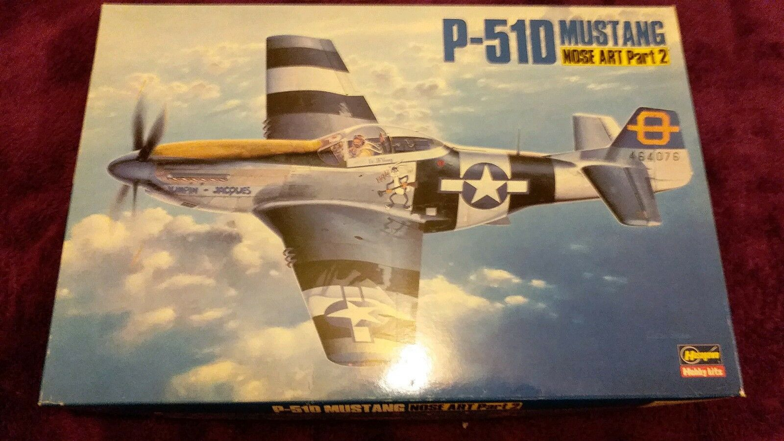 HASEGAWA 1 32 P-51D MUSTANG Nose Art Part 2 Model Kit 51539 SP39 COMPLETE UNST'D