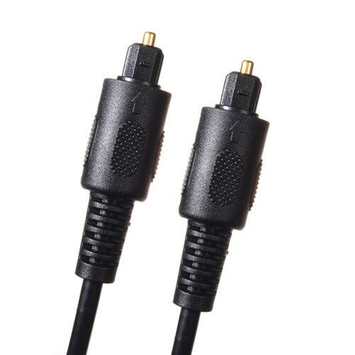 Optisches Toslink Digital Lichtwellen Leiter Audio Hifi LWL Kabel 0,5m 1m 2m 3m