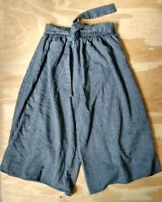 Urban Renewal Outfitters Women's Recycled Gray Gaucho Capri Pants SZ Large L