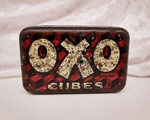 Vintage British Advertising Food Tin-OXO Cubes