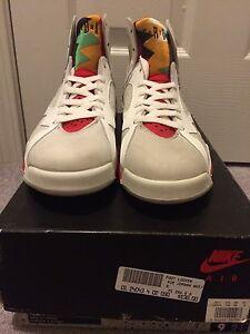 36e5f59dabc5 Rare Vintage 1991 Hares Original OG Nike Air Jordan VII 7 Hare sz 9 ...