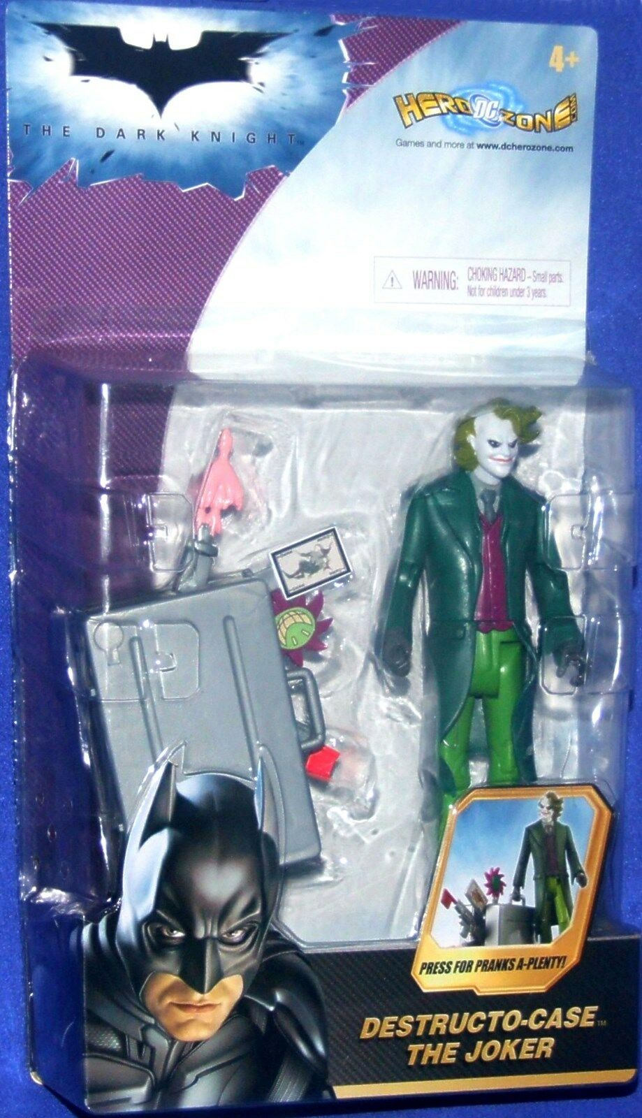 BATMAN The Dark Knight 5  The The The Joker New Destructo-Case Factory Sealed 2007 f5a7ef