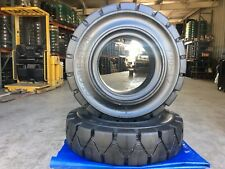 Globestar Forklift Tire 700 12 Black Solid Pneumatic
