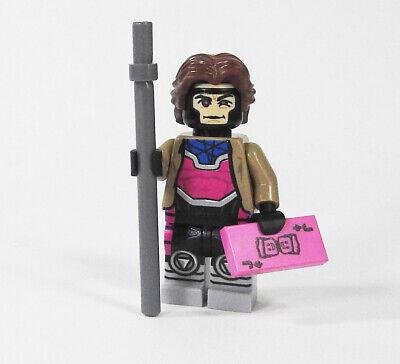 Custom X-Men minifigure on lego bricks Cyclops