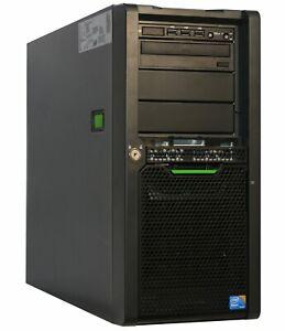 64-BIT-4xCORE-XEON-SERVER-FSC-TX140-S1P-RAID-8GB-BIS-32GB-RAM-2TB-HDD-O58-2TB