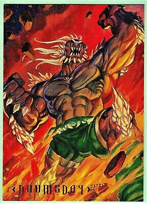 Dc Master Series Promo Card P1 Doomsday Art By John Estes Dc