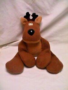 Vtg-80s-Hallmark-RODNEY-REINDEER-Big-Large-Sz-PLUSH-Christmas-Holiday-Toy-Doll