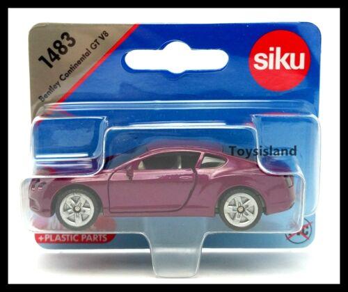 Details about  /Siku 1483 Bentley Continental GT V8 Diecast Car New