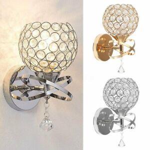 Modern-Crystal-Wall-Lamp-Mirror-Front-Light-Sconce-Bedroom-Hallway-Light