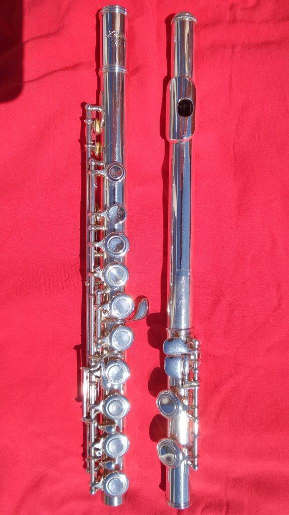 ARIA OGAWA JAPAN F300 -E- Vollsilberkopf Querflöte flute flauta flauto