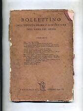 BOLLETTINO DELL'ISTITUTO STORICO E DI CULTURA DELL'ARMA DEL GENIO # 1942