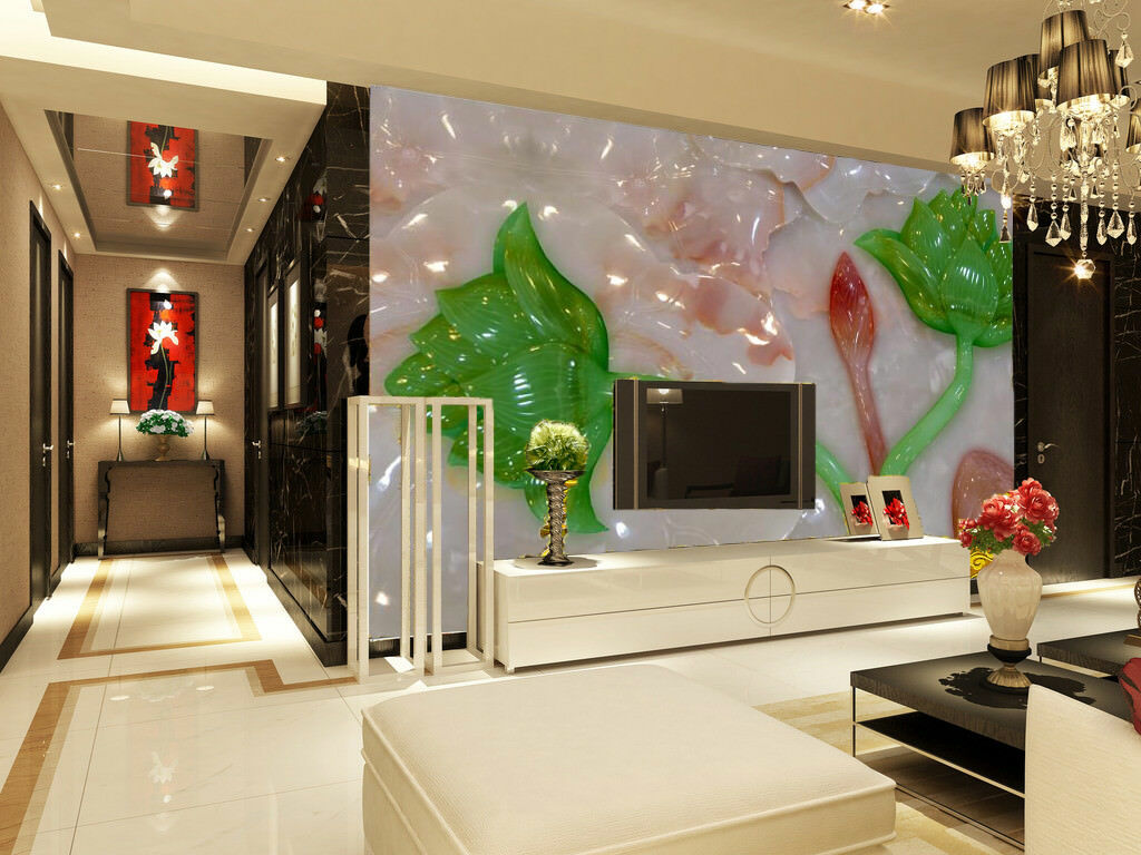 3D Grün Leaves 87 Wallpaper Mural Wall Print Wall Wallpaper Murals US Carly