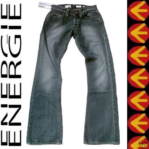 Energie Stevenson  lavado L00176 Oscuro Usado Stonewash Jeans 28 32 W28 L32  descuento de ventas en línea