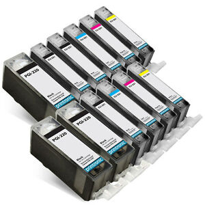 12PK-Canon-Ink-Cartridges-for-PIXMA-MP980-MP990-MX860-MX870-CLI-221-PGI-220
