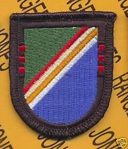 3rd Bn 75th Infantry Airborne RANGER Regt 1984 OD Green Black scroll patch LGRGR