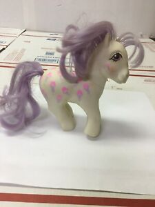 My Little Pony G1 SCOOPS 1987 white with sundaes Hasbro MLP Vintage