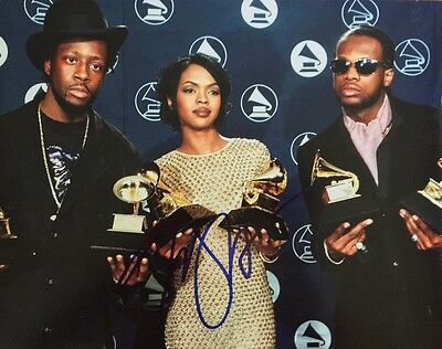 Gfa The Fugees That Thing Signed 11x14 Photo Proof Ad2 Coa Agreeable Sweetness Lauryn Hill