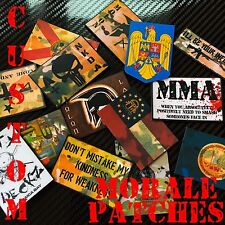 TIC TACTICAL CUSTOM MORALE PATCH VELCRO® BRAND HOOK !* MAKE YOUR OWN PATCHES *!