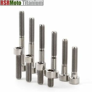 Details about M6 Titanium Bolts Socket Cap Allen Head 10 15 20 25 30 35 40  45 50 55 mm x 1 00