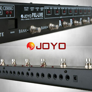 JOYO-AUDIO-PXL-LIVE-MIDI-PROGRAMABLE-LOOPER-SWITCHING-SYSTEM-FOR-EFFECTS