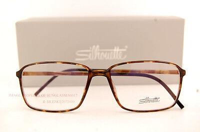New Silhouette Eyeglass Frames SPX Illusion Fullrim 2887 6051 Havana Women Men
