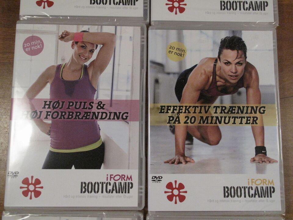 BOOTCAMP / I form BOOTcamp (6 DVD'er), DVD, andet