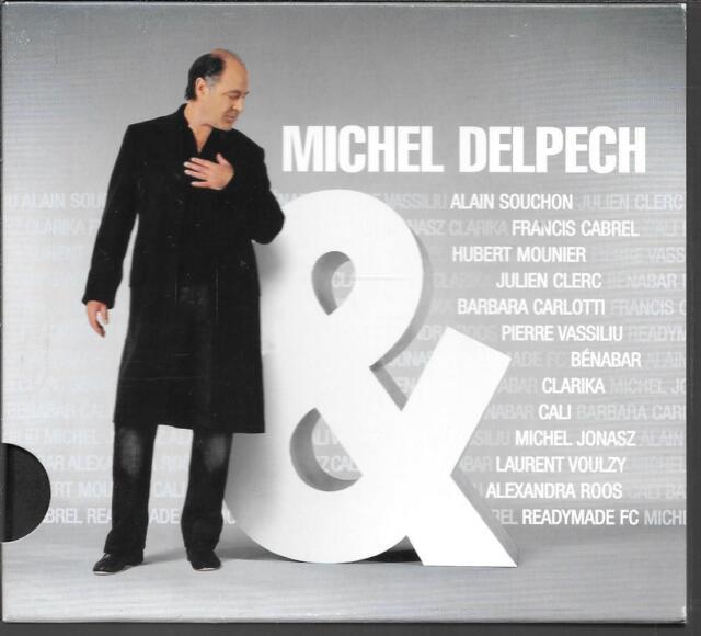 CD ALBUM SLIDEPACK 13 TITRES--MICHEL DELPECH--MICHEL DELPECH &...