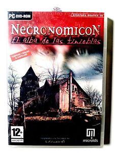 Necronomicon-Alba-de-Las-Tenebres-PC-Scelle-Videogame-Scelle-Videojuego-Spa