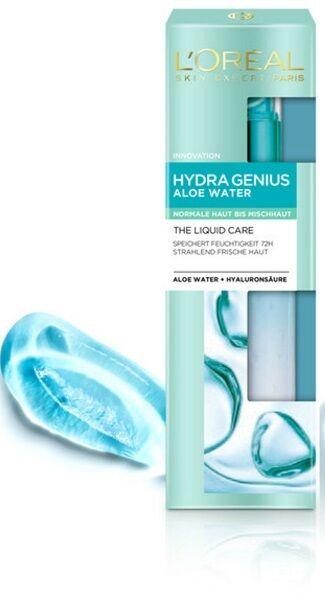 L'Oreal Paris Hydra Genius Aloe Water - Normal to Combination Skin 70ml