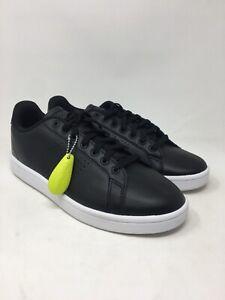 Details about Adidas NEO Men's Cloudfoam Advantage Clean Sneakers Size 10 M US Black/White