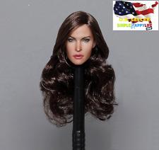 1//6 female head black hair for hot toys phicen KUMIK KIMI KT011 C ❶US IN STOCK❶