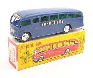 Vintage-Mak-039-s-Hong-Kong-Plastic-Friction-School-Bus-No-2006S-BOXED