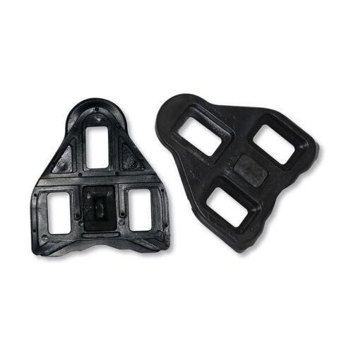 ROTO Set Pedalplatten schwarz mit Schrauben ROTO LOOK