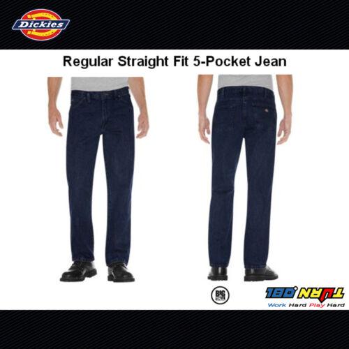 9393 17292 Regular Mens poches Jean Fit 17293 Dickies Straight Work Denim 5 dPzcIw