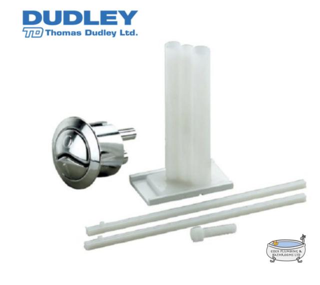 Thomas Dudley Niagara Dual Flush Chrome Toilet Push Button 314318 Multi-Colour