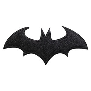 Batman Rotro Superhero Movie Patch Iron On Sew On Badge Embroidered Patch