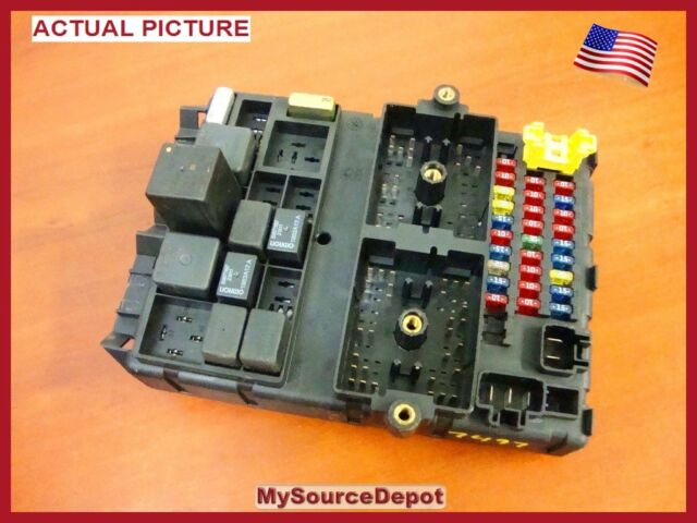 2003 Grand Cherokee Bcm Multifunction Body Control Panel No Module