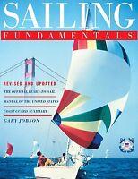 Sailing Fundamentals Book > Sail Sailboat Boat Manual Instruction How-to Jib