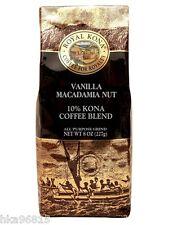 VANILLA MACADAMIA NUT Royal Kona Coffee 8 oz ground