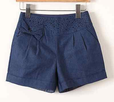 New Women girls Fashion Korean Women's Summer Denim Shorts Pants Casual Shorts