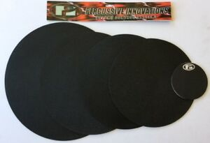 """Heavy Duty Rock Pack 4-piece Soft Neoprene Drum Mute Set (12"""", 13"""", 14"""", 16"""")"""