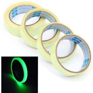 Photoluminesce<wbr/>nt Luminous Tape Self-adhesive Glowing In The Dark Tape 25mm x 3m