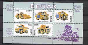 Weissrussland-1998-Satz-273-77-KLB-Automobile-Werkzeuge-postfrisch