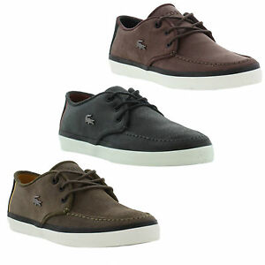 Lacoste Men's Sevrin 7 Suede Lace Up Shoes - - UK 7