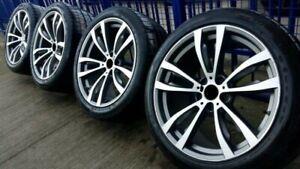20-Zoll-Komplettraeder-fuer-BMW-X5-E70-F15-X6-F16-Sommerreifen-RDKs-Sensor