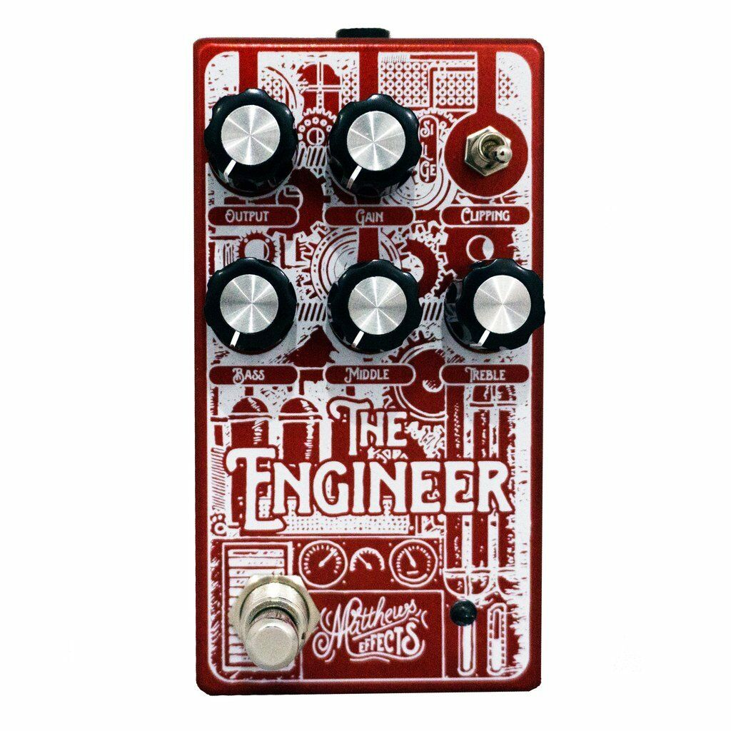 Matthews Effects Pedal, THE ENGINEER - FOUNDATIONAL BASS OVERDRIVE, OVERDRIVE, OVERDRIVE, Brand New 5f01a9