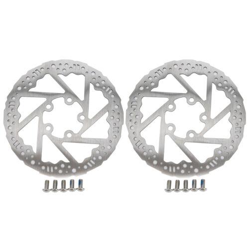 1 Pair Aluminium Alloy Brake Disc 5 Hole Brake Pad for XIAOMI 365PRO E-Scooter A