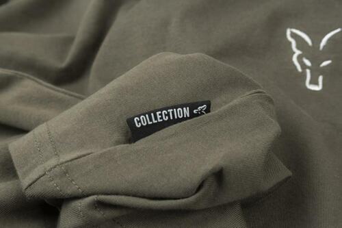 Fox Collection Vert Argent T-shirt//Pêche à La Carpe Vêtements